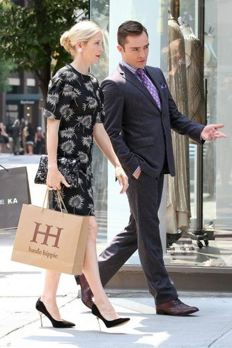 Gossip Girl Set - August 17, 2012