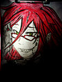 Grell Sutcliff Fan Art ♥ - the-kuroshitsuji-black-butler-shinigami fan art