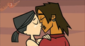 H&amp;A kiss - total-drama-island photo