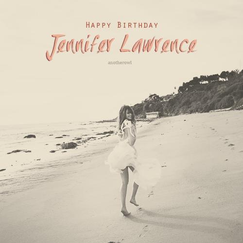 Happy 22nd Birthday Jennifer!