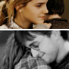 Harry and Hermione photo with a portrait entitled Harmony
