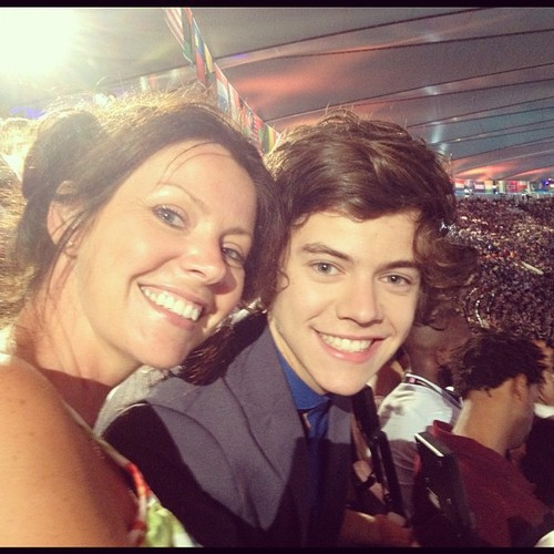 Harry and his mum