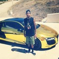 He always drivin nice cars - tyga photo