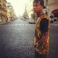 Him in Paris - tyga photo