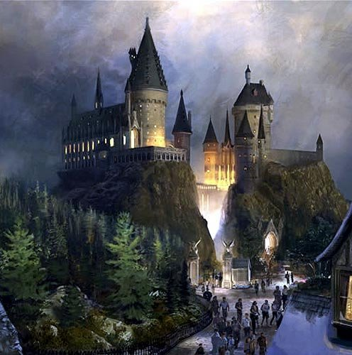 harry potter wallpaper with a palace, a castle, and a castelo titled Hogwarts