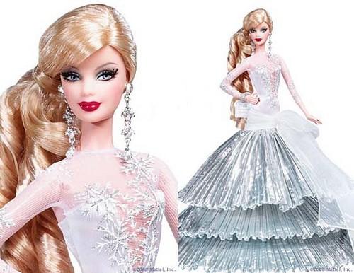 Holiday 芭比娃娃 2008