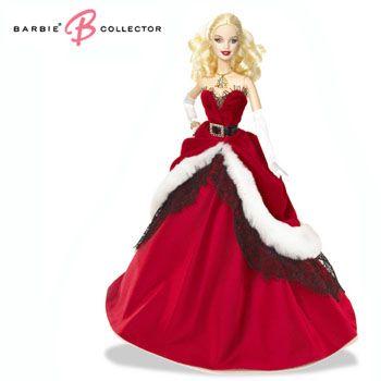 Holiday 芭比娃娃 2012