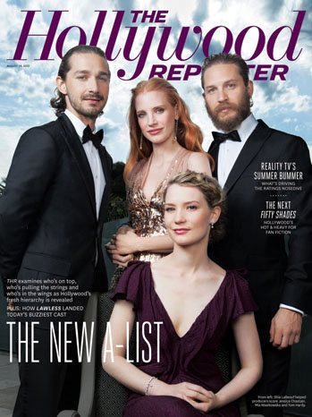 Hollywood reporeter Front Page
