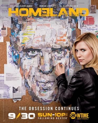 Homeland - Season 2 - Promotional Poster