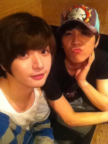 Hongki and Sung Je
