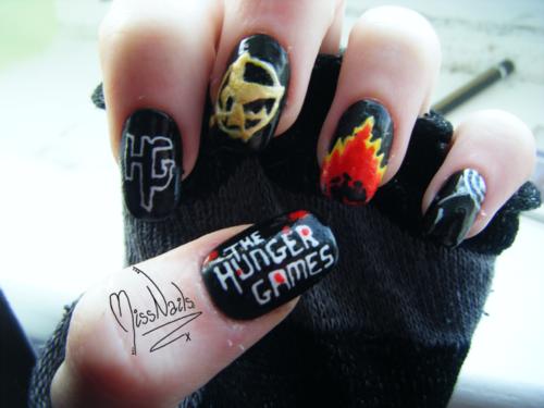 Hunger games nial art