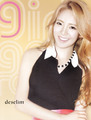 Hyoyeon @ S.M.ART Exhibition Poster