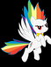 Hyper rainbowdash? - rainbow-dash icon