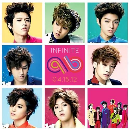 "Infinite ""Be Mine"" Japanese single Type B"