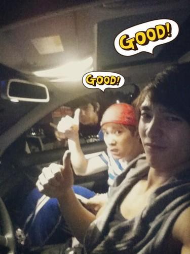 Jaejin, Hong Ki and Jong Hun