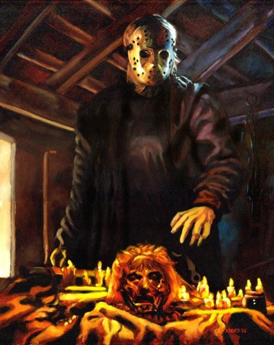 Jason and his mother's shrine