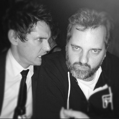 Jeff Davis and Dan Harmon