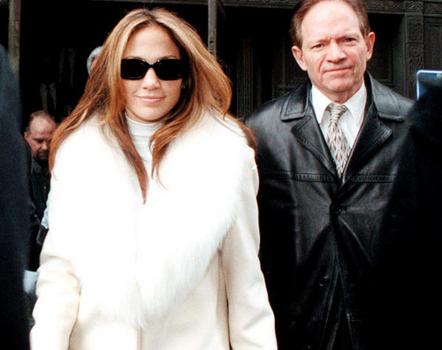 Jennifer Lopez wallpaper possibly containing sunglasses and a well dressed person called Jennifer Lopez with her father David Lopez