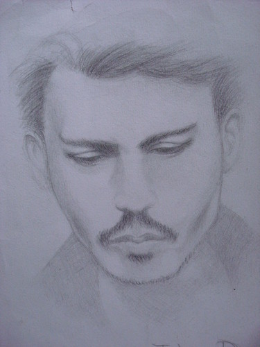 Johnny Depp sketch