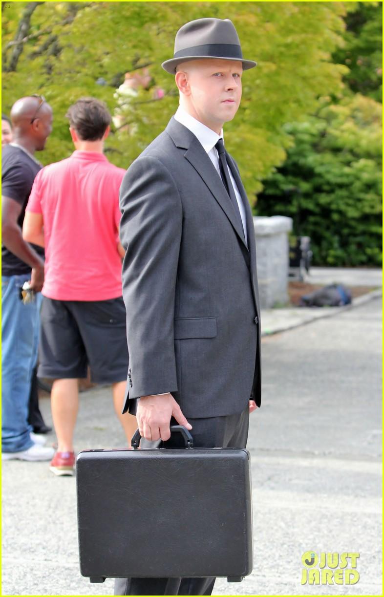 Joshua Jackson: 'Fringe' Set with Georgina Haig!