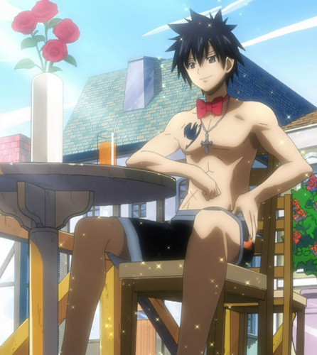 Fairy Tail wallpaper probably with bare legs, a swimsuit, and a living room titled Juvia Dream