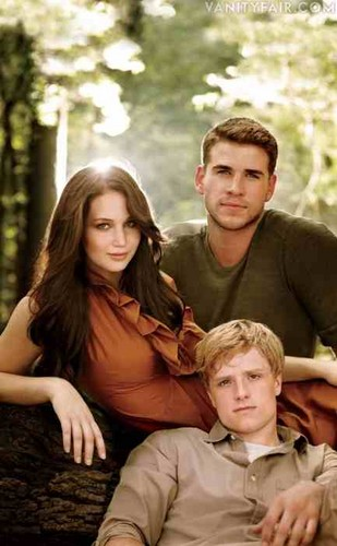 Katniss,gale,and peeta