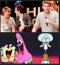 Katniss,peeta,gale (Funny)