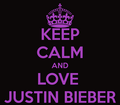 Keep Calm And Love Justin Bieber - keep-calm-and photo