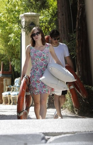 Keira Knightley with fiance James Righton  on holiday in the South of France, 12 august 2012
