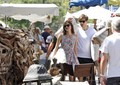 Keira Knightley with fiance James Righton  on holiday in the South of France, 12 august 2012 - keira-knightley photo