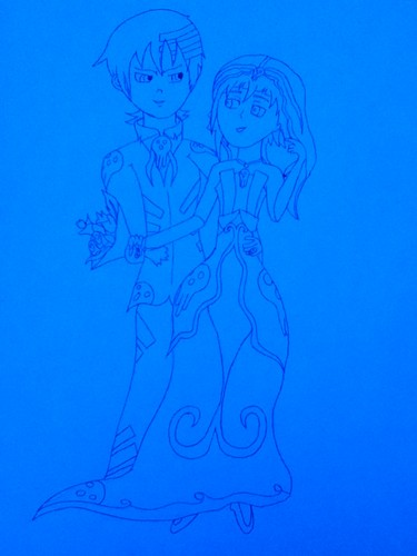 Kid and Crona Wedding