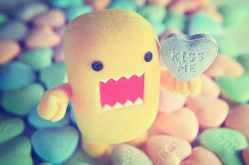 l'amour fond d'écran titled Kiss me