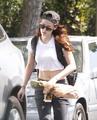 Kristen Stewart in LA 08/20/2012