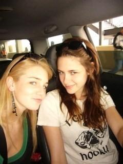 Kristen Stewart with a porn stella, star