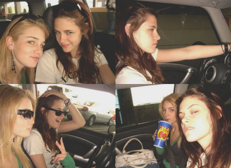 해리 포터 대 트와일라잇 바탕화면 probably with an automobile and sunglasses titled Kristen Stewart with a porn 별, 스타