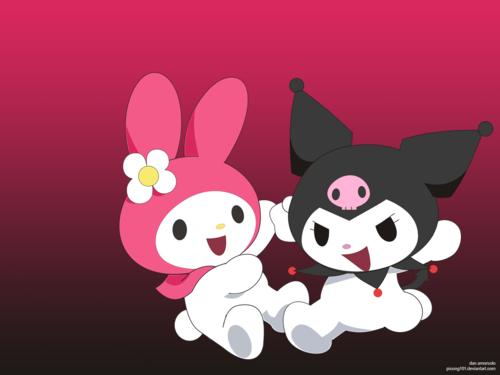 Kuromi and Melody