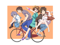 Kyon's bicycle!