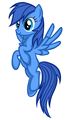 LOOK WHAT SOMEONE DREW ME!!! - my-little-pony-fim-fan-characters photo