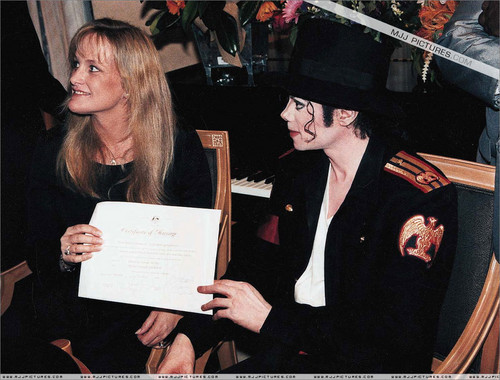 "Ladies and Gentleman, I Now Present To You, ""Mr. and Mrs. Michael Jackson"""