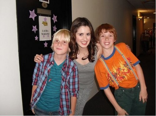 Laura with young Ross and Dez
