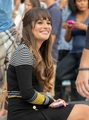 Lea Michele &amp; Dean Geyer Filming in New York - lea-michele photo