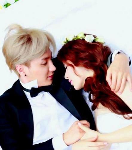 Leeteuk & Kang Sora Wedding bức ảnh