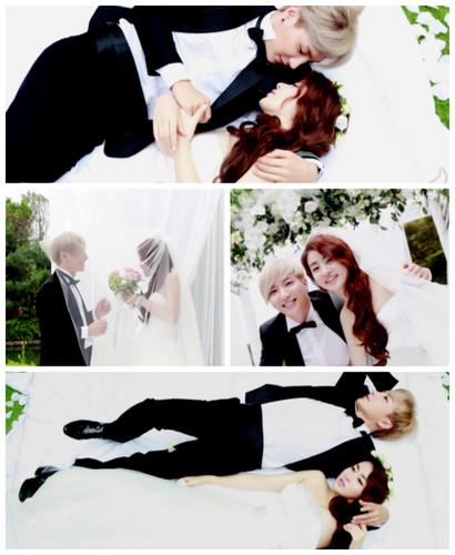 Leeteuk & Kang Sora Wedding تصویر