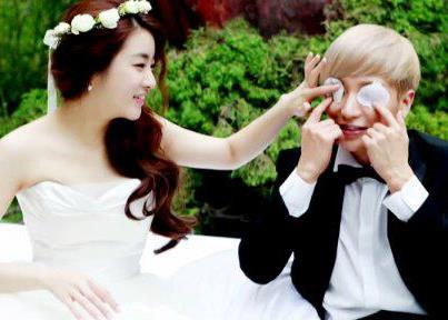 Leeteuk & Kang Sora Wedding photo