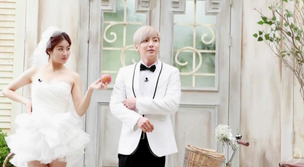 Leeteuk and Kang Sora Korean Pre Wedding, Married Global, Laboratory