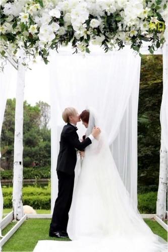 Leeteuk & Kang Sora Wedding 照片