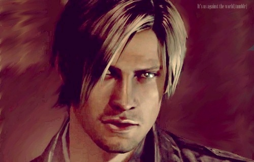 Leon Kennedy 바탕화면 probably containing a portrait entitled Leon Hot!♥♥♥