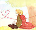 Liechtenstein x Switzerland - hetalia-couples photo