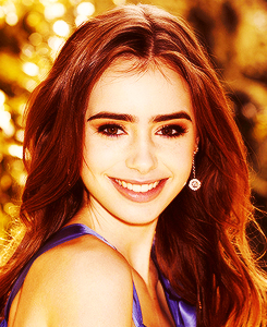 Lily Collins | Unknown...
