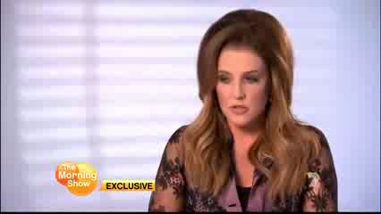 Lisa Marie Presley on The Morning onyesha (15/08/12)